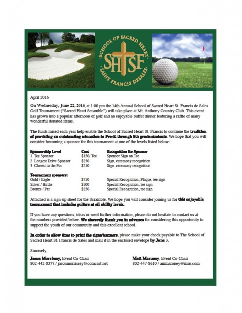 2016 Golf Letter for Website